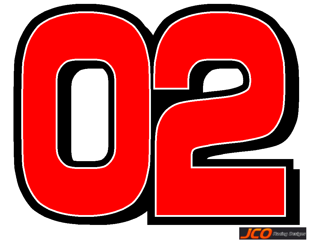 RACING GO KART Chiseled number package,sticker,graphics ...