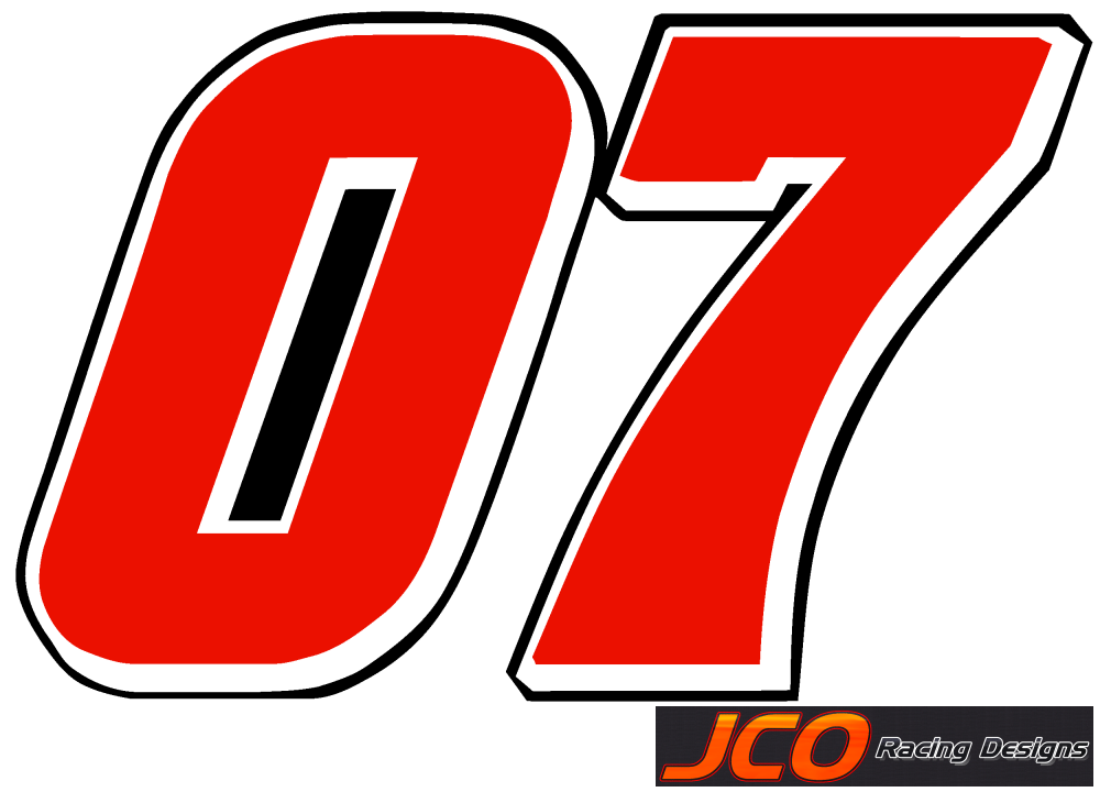 07 >> Jcoracing Designs Nationwide Numbers